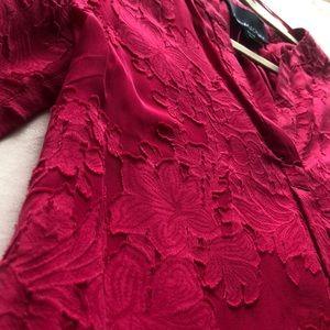 Cynthia Rowley detailed sheer long sleeve blouse